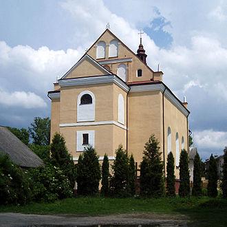 Yavoriv - Image: Saints Peter and Paul church, Yavoriv (02)