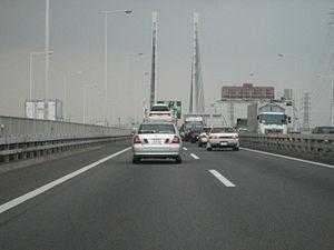 Tokyo Gaikan Expressway - Image: Sakitama bridge, Saitama, Japan