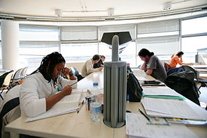 University of Trieste - Students studying in the University structures