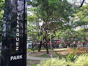 Salcedo Park - Image: Salcedo Park 01