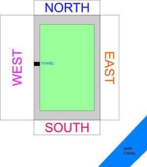 AJ Bell Stadium - Stadium layout