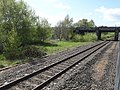 Saltney Ferry railway station (site), Flintshire (geograph 5781503).jpg