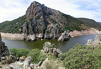Monfragüe - A view of the Salto del Gitano