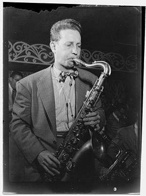 Sam Donahue - at the Aquarium New York City, c. December 1946