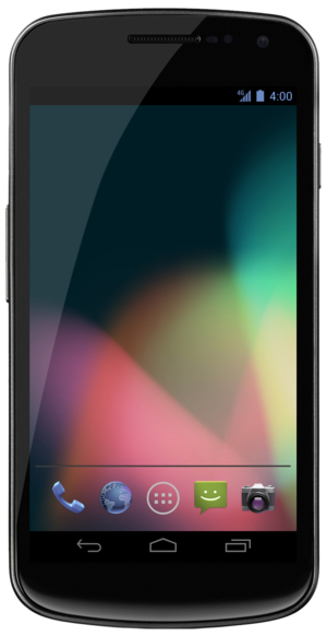 Linux-powered device - Galaxy Nexus, an Android smartphone (Android is based on the Linux kernel)
