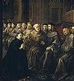 San Buenaventura recibe el hábito de San Francisco, por Francisco de Herrera el Viejo.jpg