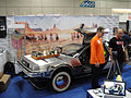San Diego Comic-Con 2011 - Back to the Future III car (Profiles in History booth) (6039791512).jpg