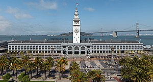 San Francisco Ferry Building - The Ferry Building, along the Embarcadero.