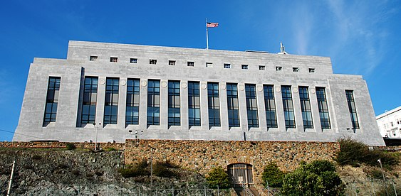 The new San Francisco Mint building, built in 1937 (2007) San Francisco Mint 2007.jpg