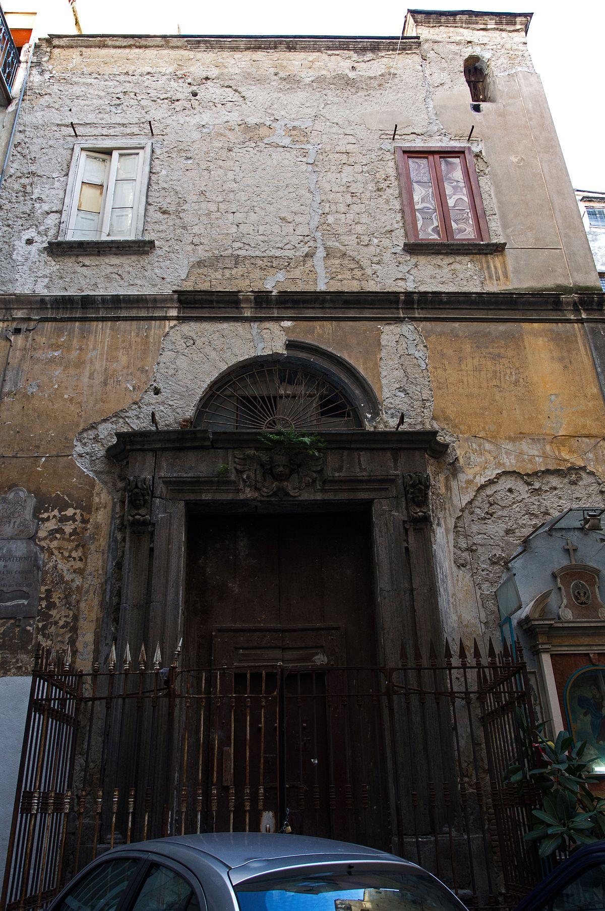 Chiesa di san girolamo dei ciechi wikipedia for Ciechi in italia