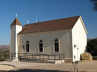 California Historical Landmarks in Santa Barbara County, California - Image: San Ramon 03