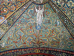 San vitale, ravenna, int., presbiterio, mosaici volta e arcone 03.JPG