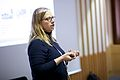 Sandra Fauconnier (ArtTube) at the GLAM WIKI UK 2013 Conference - Flickr - Sebastiaan ter Burg.jpg