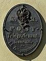 Sankt Peter ob Judenburg - Schloss Rothenthurm - altes Postschild.jpg