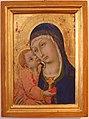 Sano di pietro, madonna col bambino, 1450-80 circa, da s. cerbone a montorsaio 01.JPG