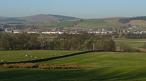Sanquhar - Image: Sanquhar viewed from the south geograph.org.uk 686805