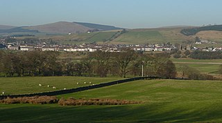 Sanquhar town in Dumfries and Galloway, Scotland