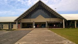 Santo-Pekoa International Airport - Image: Santo airport