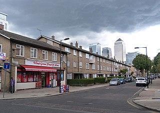 Lansbury Estate Council housing estate in the London Borough of Tower Hamlets, UK