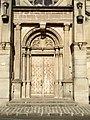 Sarcelles - Portail occidental de l eglise Saint-Pierre-Saint-Paul.jpg