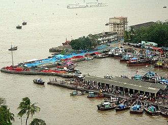 Sassoon Docks - Aerial view of Sassoon Docks