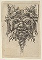 Satyr Mask with a Spiral-Shaped Beard and Ivy Grouped Around Each Horn, from Divers Masques MET DP837354.jpg