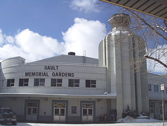 Sault Ste. Marie Greyhounds - Sault Memorial Gardens.