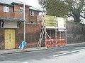 Scaffolding in Saint Cross Road - geograph.org.uk - 1548417.jpg
