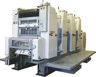 Ryobi - Ryobi 4 color offset press
