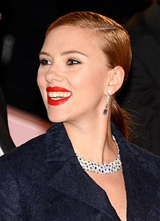 Scarlett Johansson on screen and stage Wikimedia list article