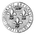 Sceau de René d'Anjou, roi de Sicile.png