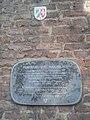 Schild an der Kirche St. Maximilian in Duisburg-Ruhrort.jpg