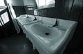 School sinks, Pit Village, Beamish Museum, 20 October 2007.jpg