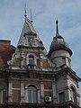 Schossberger house (1886), tower. - 1 Teréz Boulevard, Budapest.JPG