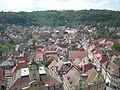 Schwäbisch Hall Jul 2012 19 (view from St. Michael belltower).JPG