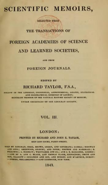 File:Scientific Memoirs, Vol. 3 (1843).djvu