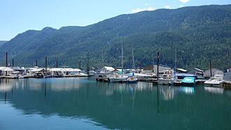 Castlegar, British Columbia - Scotties Marina, near Castlegar