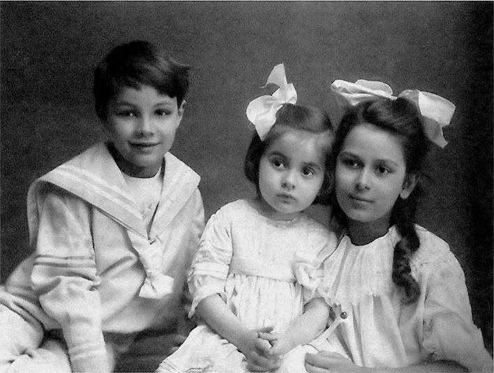 Scriabin's children (Ariadna, Marina, Yulian)