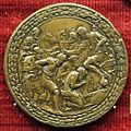 Scuola romana, medaglia di clemente VII e liberalitas, vesrso con comandante che libera prigionieri, 1534.JPG