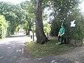 Sean the Leprechaun in Salterns Lane - geograph.org.uk - 1415641.jpg
