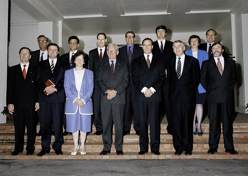 Second Keating Cabinet 1994