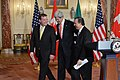 Secretary Kerry, Canadian Foreign Minister Baird, and Mexican Foreign Secretary Meade Share a Laugh (11997494055).jpg