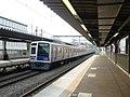 Seibu 6000 at Higashikurume Station.jpg
