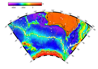 Southeast Indian Ridge A mid-ocean ridge in the southern Indian Ocean