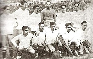 History of the Chile national football team - The Chilean national team during the 1930 FIFA World Cup.