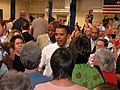 Sen. Barack Obama greets Des Moines supporters (838605106).jpg