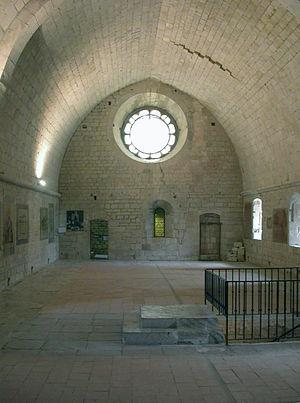 Sénanque Abbey - Image: Senanque abbey dormitory
