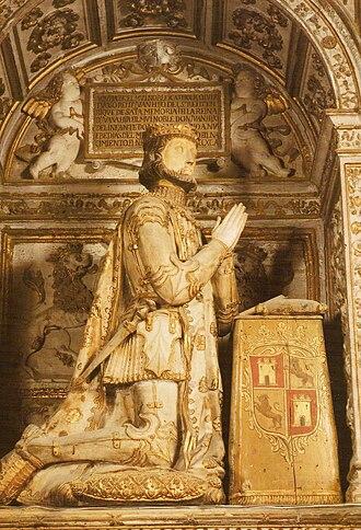 John I of Castile - Sepulchre of John I of Castile in the Cathedral of Toledo