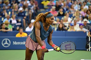 2013 WTA Tour - Serena Williams won 11 titles in the year including 2 slams, the most since Hingis in 1997