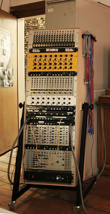 Serge modular synthesizer Worm Rotterdam, 24th...